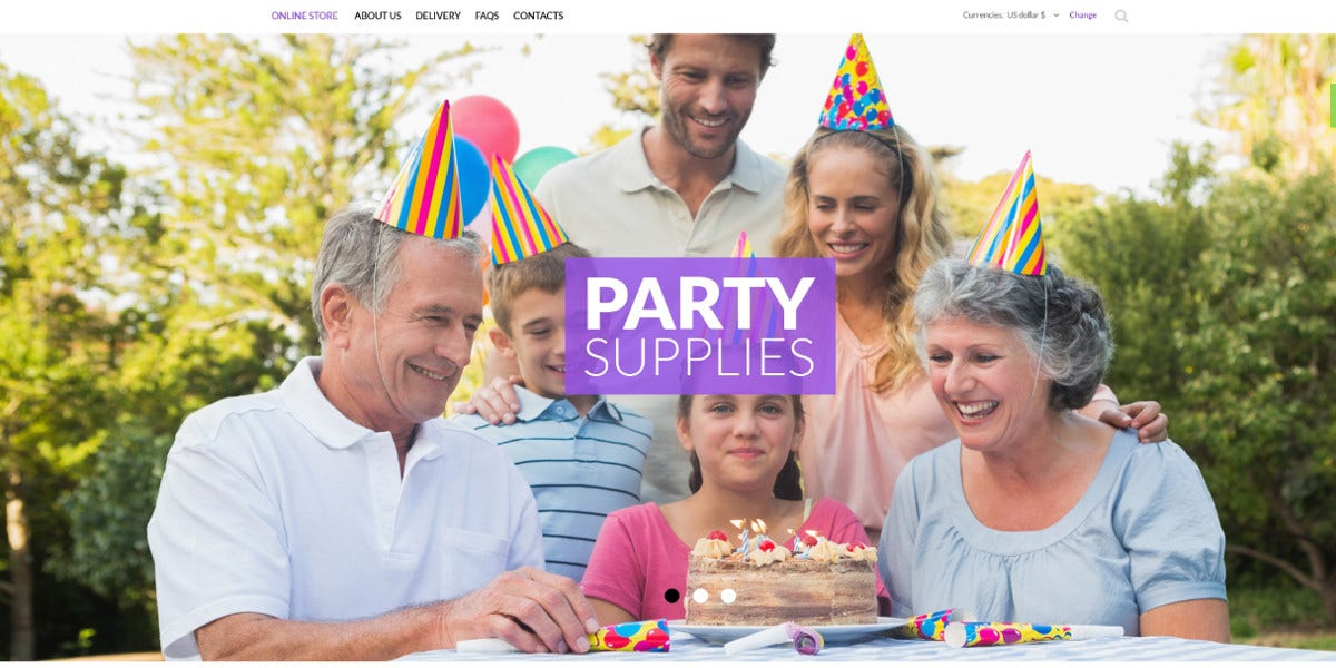 birthday-celebrations-website-theme