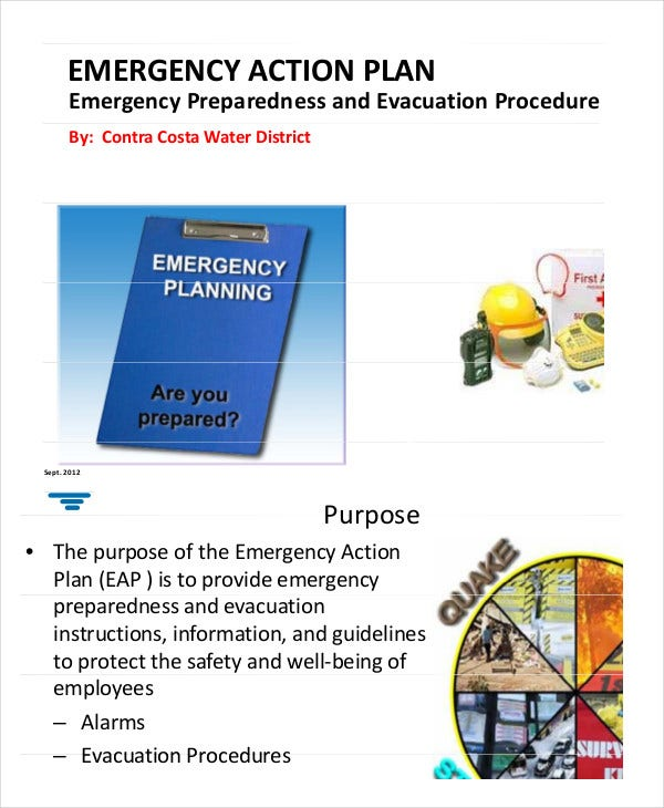 emergency action plan training