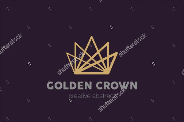 Golden Crown Logo Design