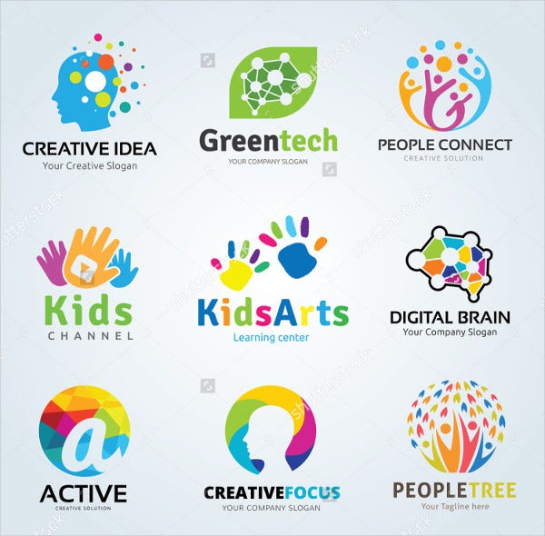 kids logo Template