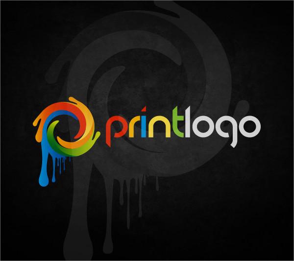 modern print logo design
