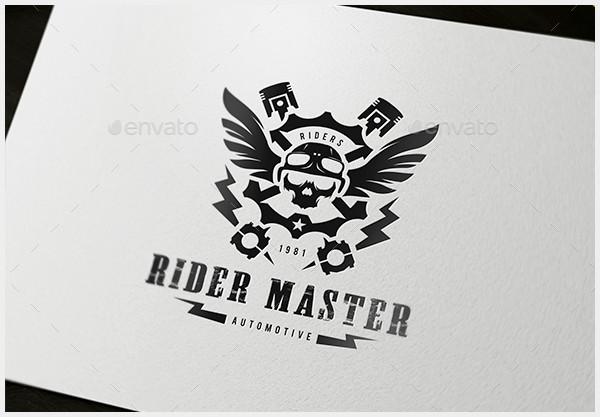 rider master logo design