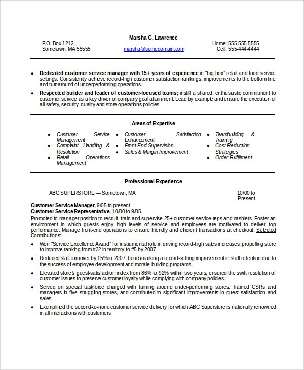 customer-service-manager-resume-in-word