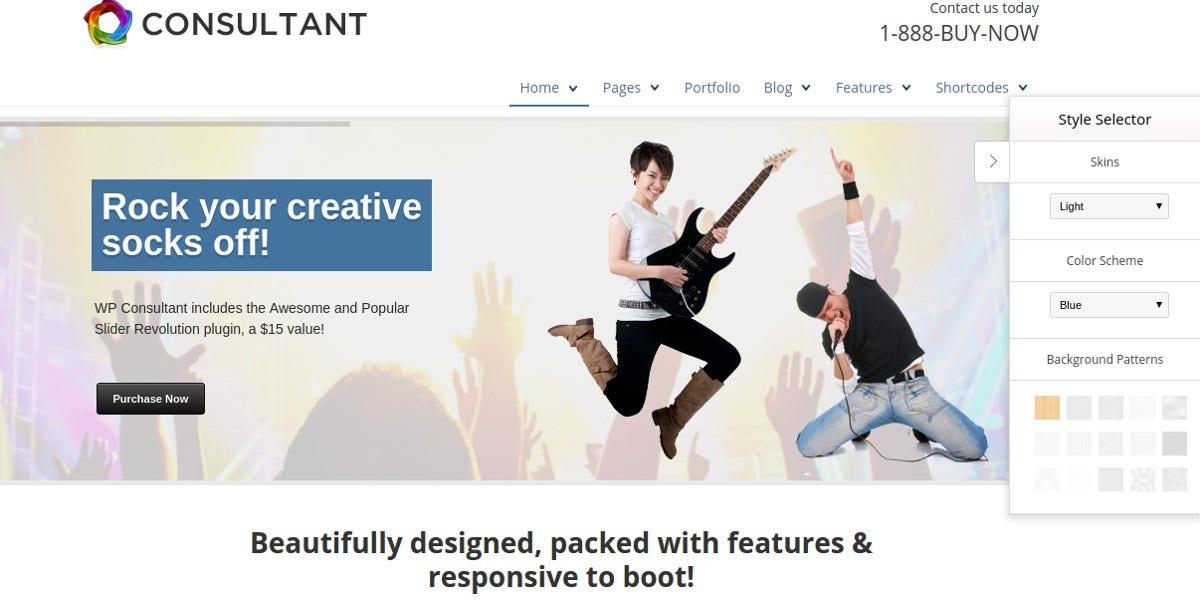 consulting responsive website template 44