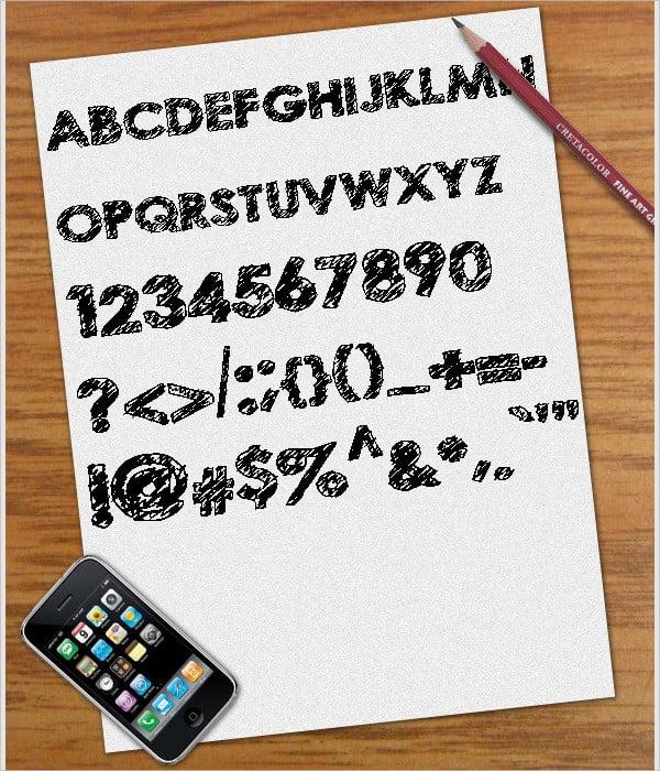 16+ Scribble Fonts - Free OTF, TTF Format Downloads | Free