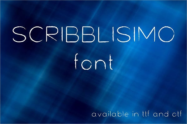 Scribblisimo Font