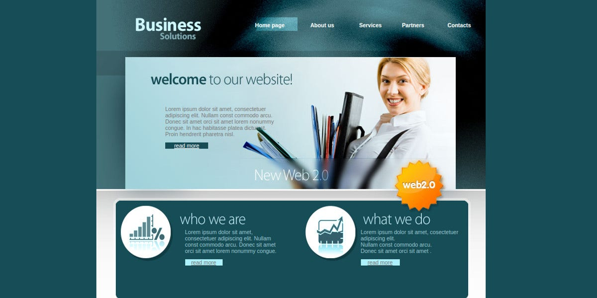 business solutions consulting website template1