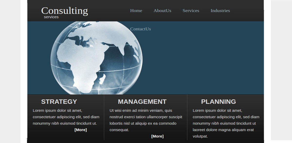 free-consulting-service-website-template