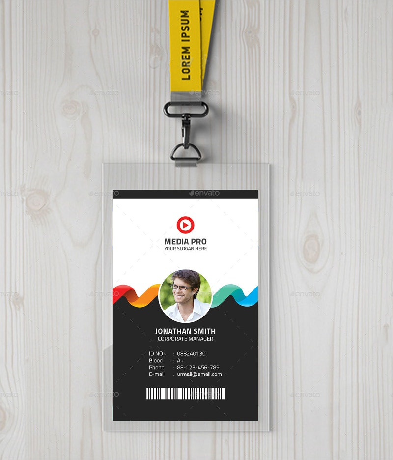 Beautiful Creative ID Card Template