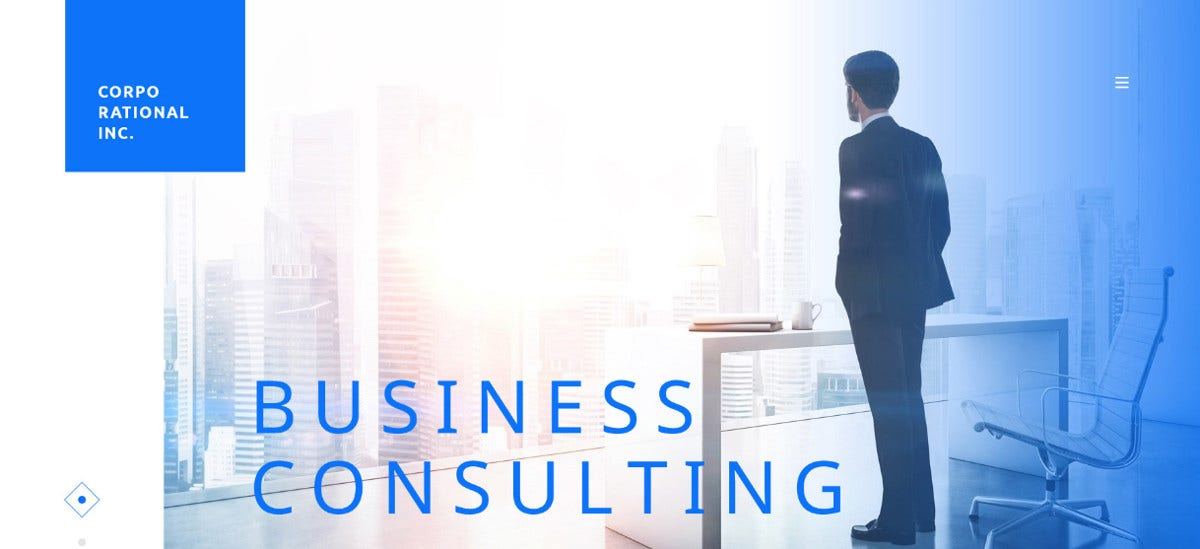 15 consultancy website themes templates free for Consulting website