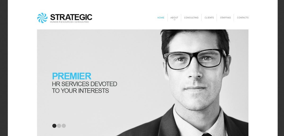 job consultancy website template 64