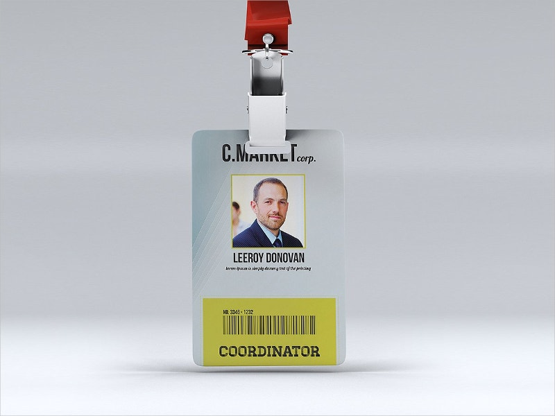 Attractive Company ID Card Design