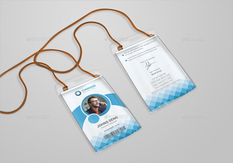 Best Office ID Card Design