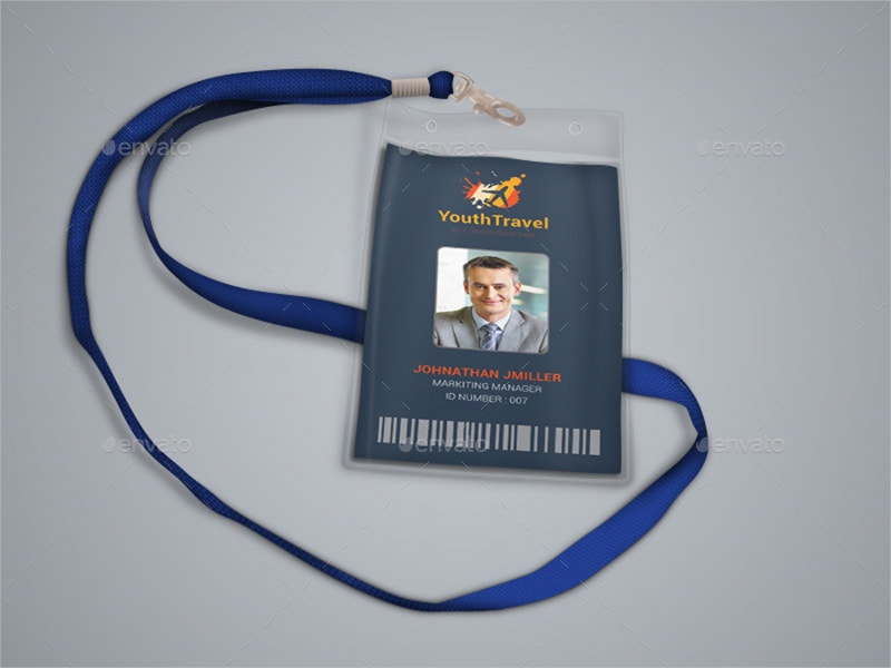 Travel ID Card Design