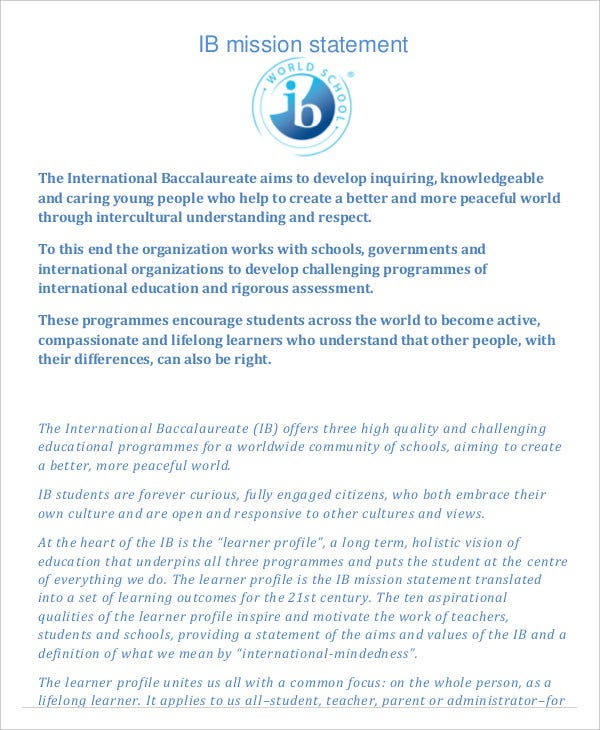 ib-mission-statement-template