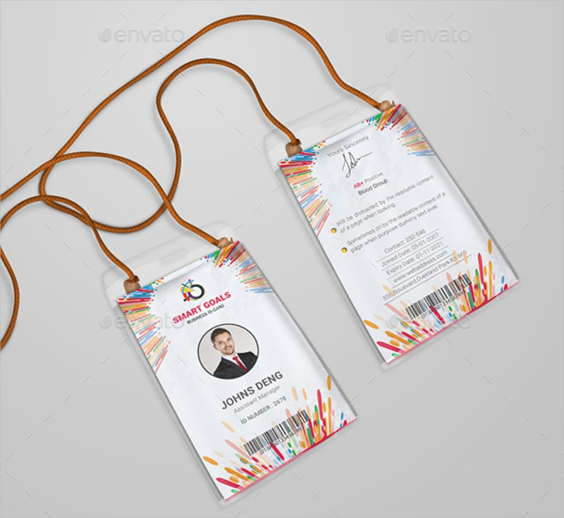 Modren Corporate Company ID Card Design