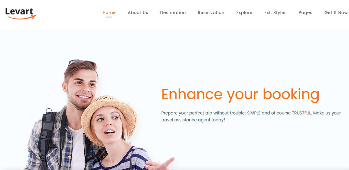 professional travel booking joomla theme