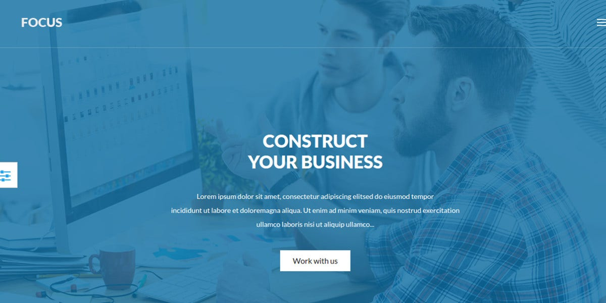 business professional joomla theme