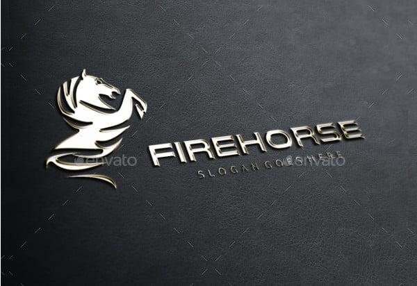 Fire Horse Logo