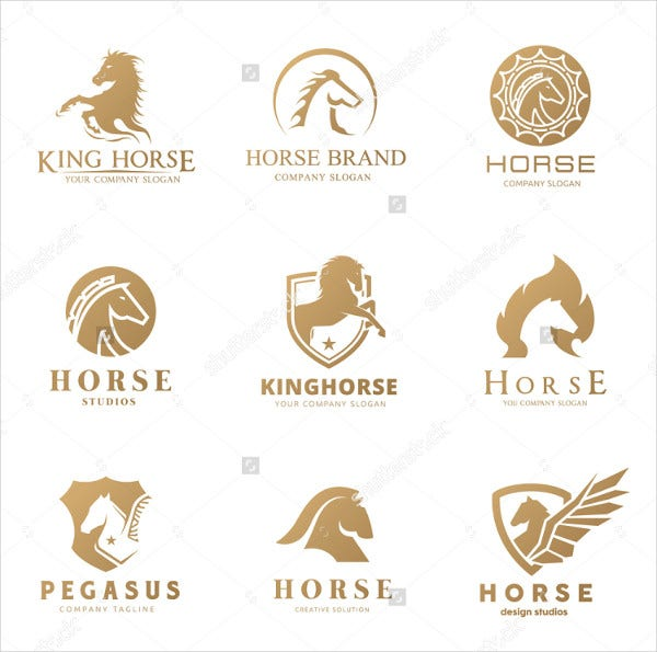 Horse Logo Collection