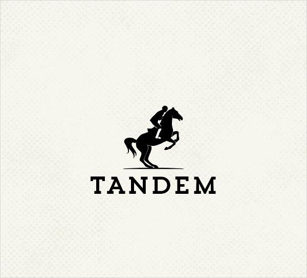 premade horse logo