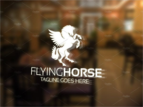 Printable Flying Horse Logo