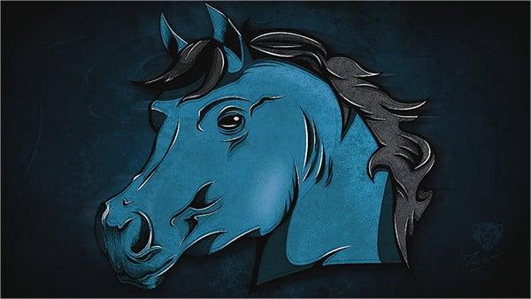Zepur Horse Logo