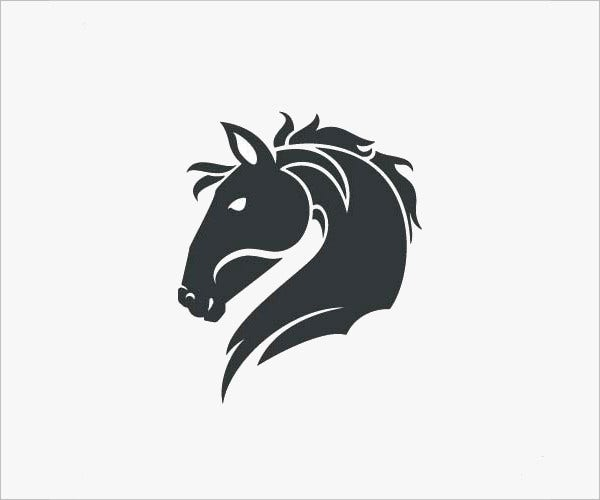 Line Art Logo Maker : Horse head logo designs imgkid the image kid