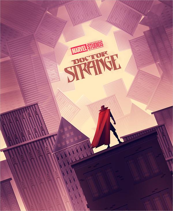 Vintage Doctor Strange Poster