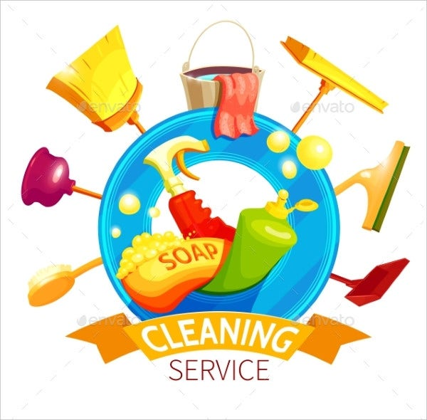 Cleaning Logo Business