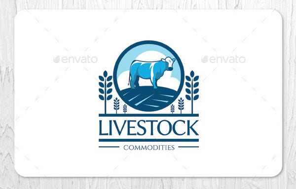 Livestock Farming Business Logo