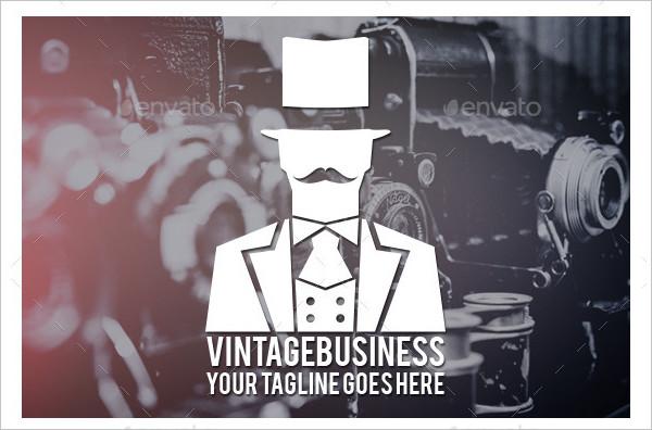 vintage business logo