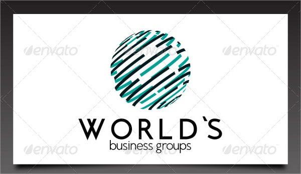 world business logo