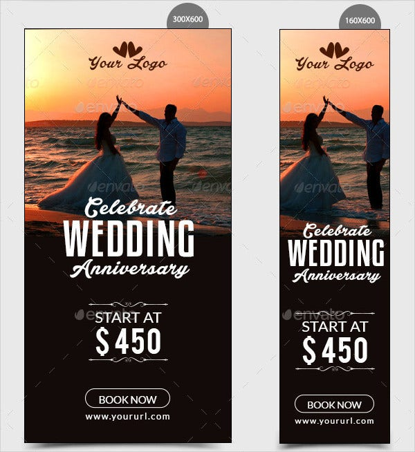 Wedding Anniversary Banner