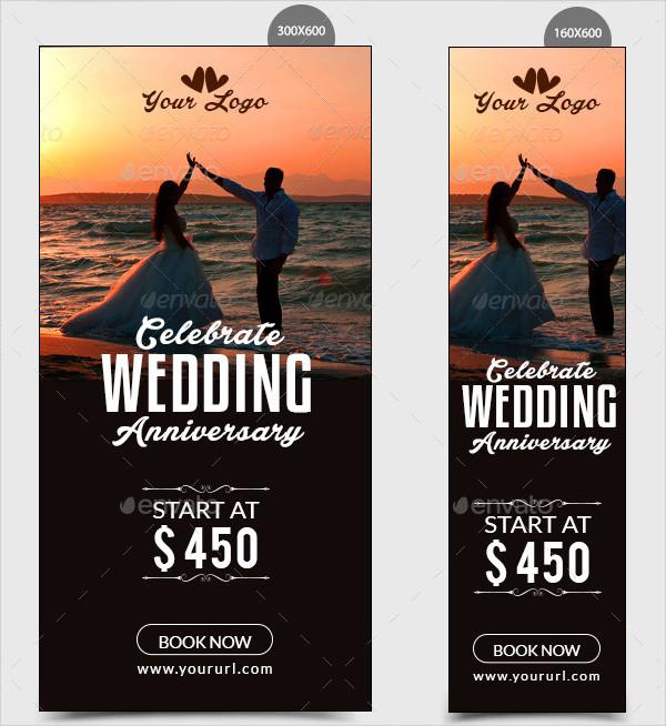 wedding anniversary banner