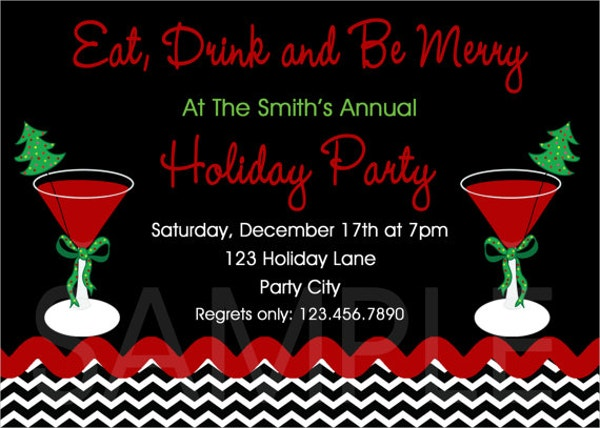 Invitation Templates Free Premium Templates - Office holiday party invitation template