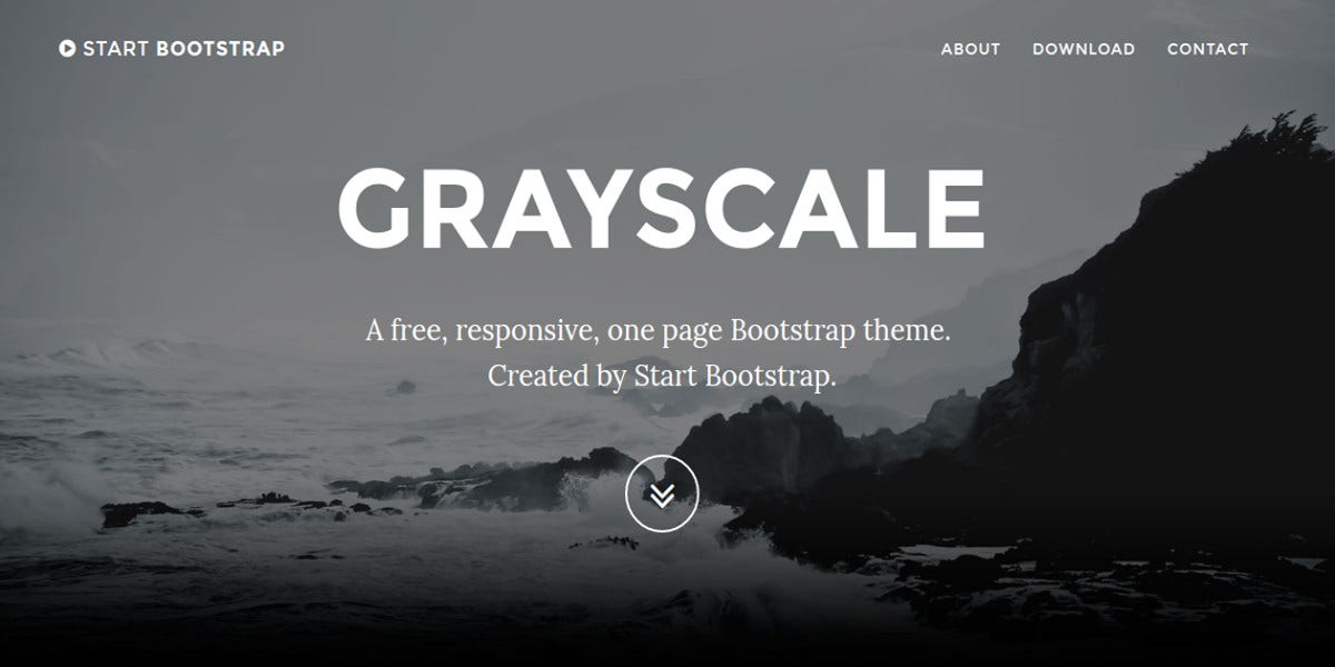 free multipurpose one page bootstrap website theme1