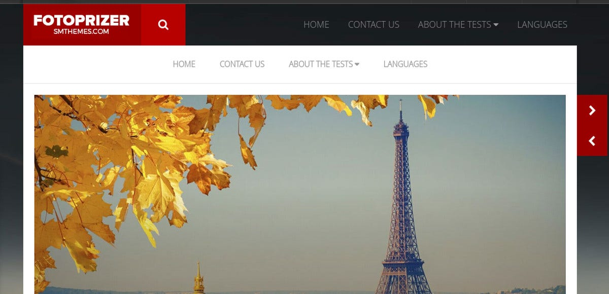 travel photography portfolio wp website theme
