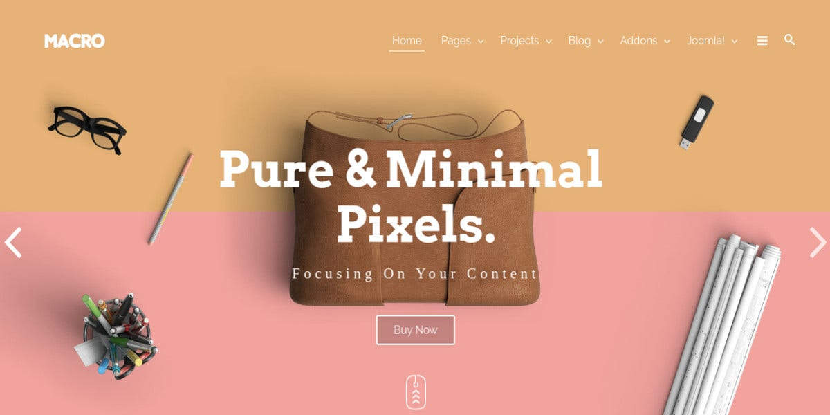best free photography portfolio joomla template