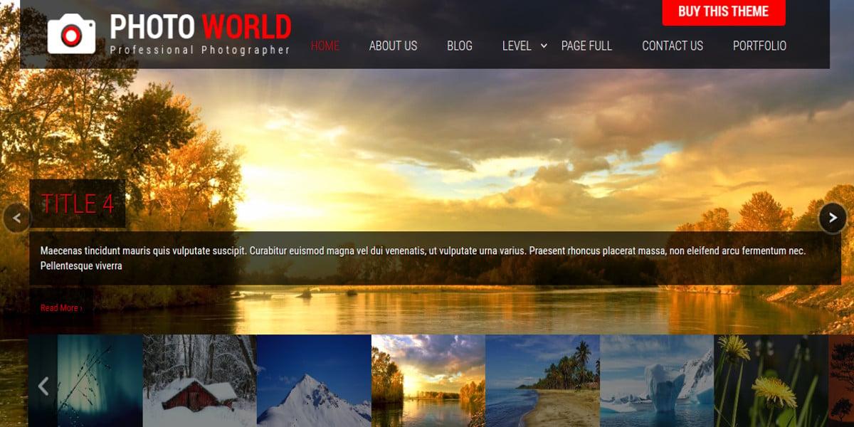 free premium photography wordpress theme1
