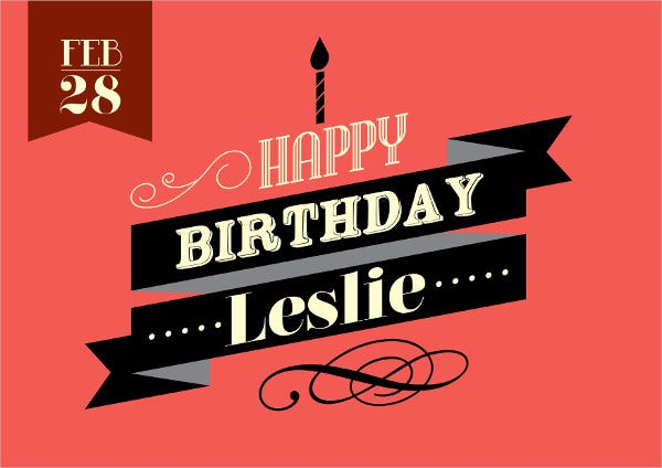 Birthday Banner Template vector