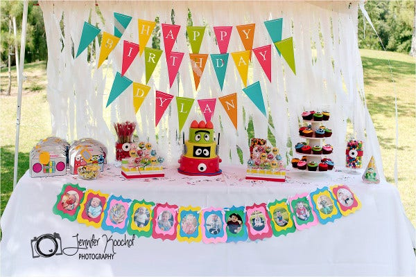 Custom Happy Birthday Banner