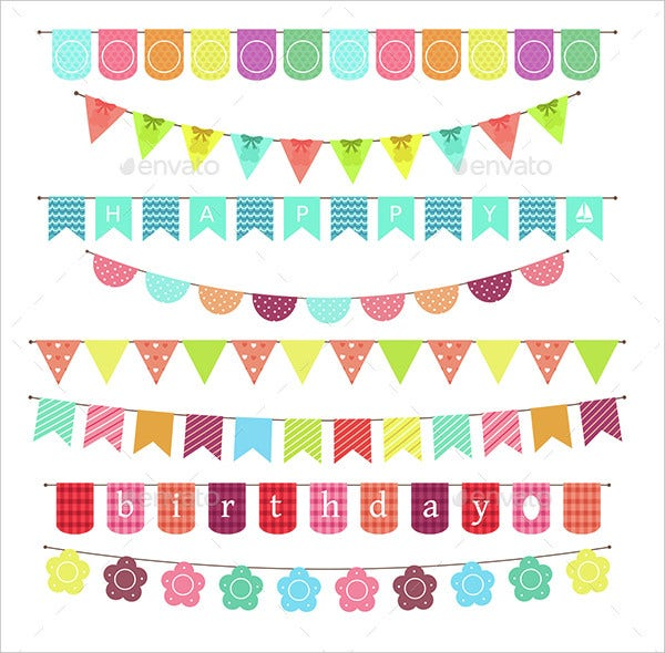 Printable Banner of Birthday