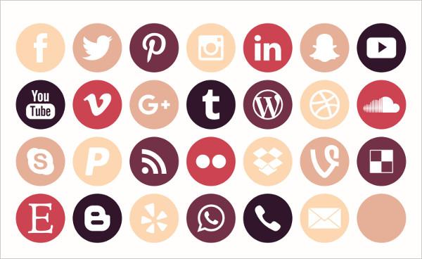 560 Social Media Icons