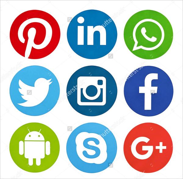 Most Popular Social Media Icon