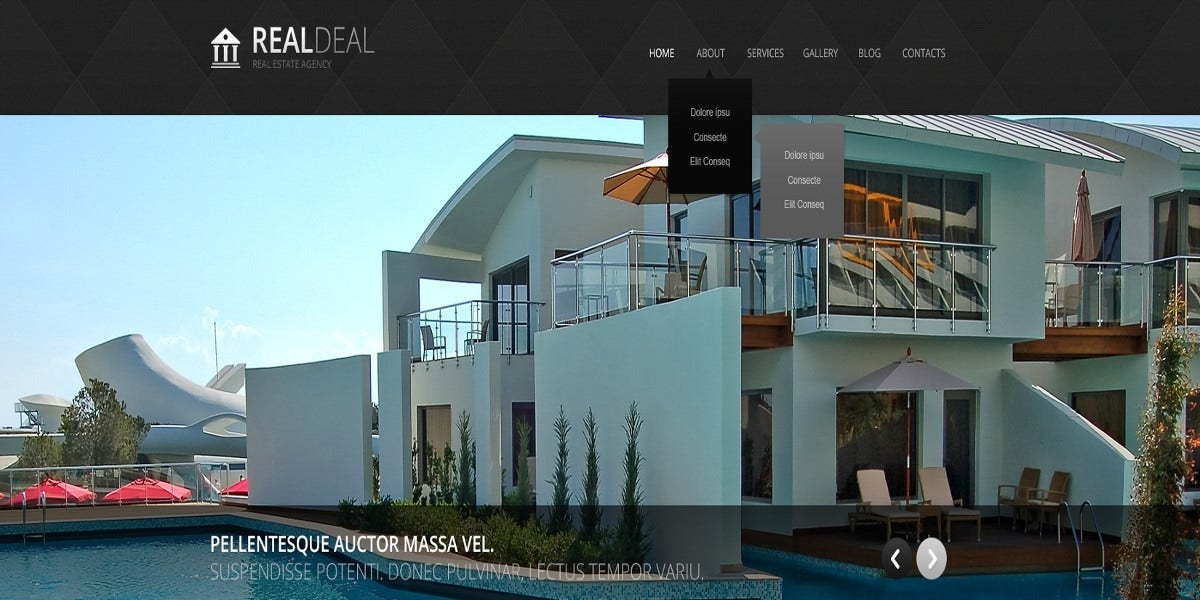 modern real estate agency joomla template 75