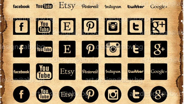 social media icons feature image
