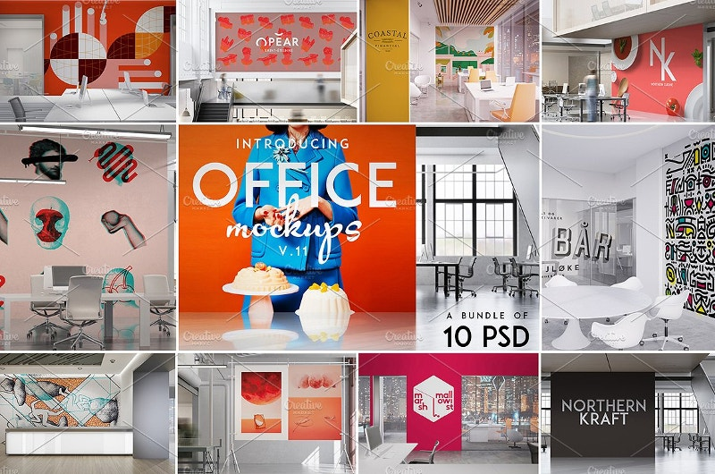 Office Branding Mockups Bundle