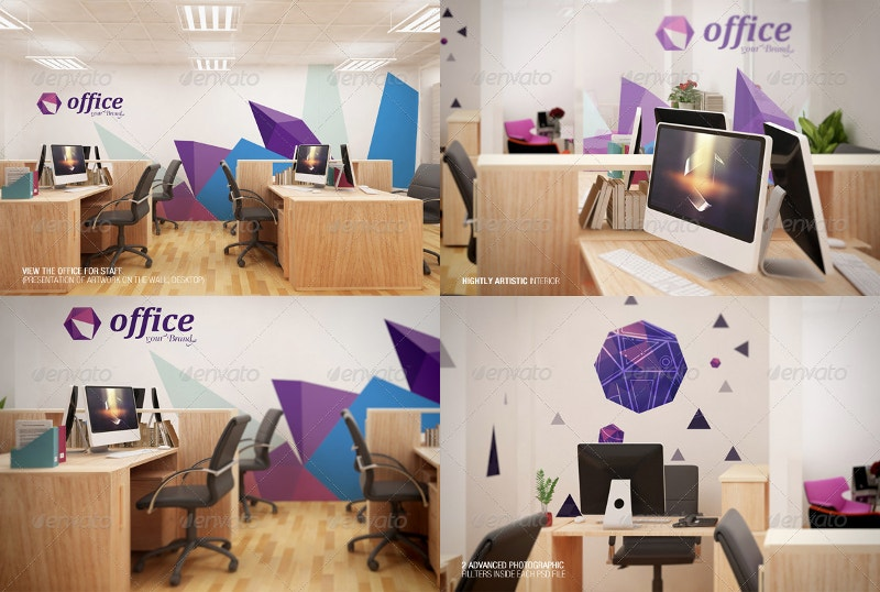 Mockup Branding For Small Office