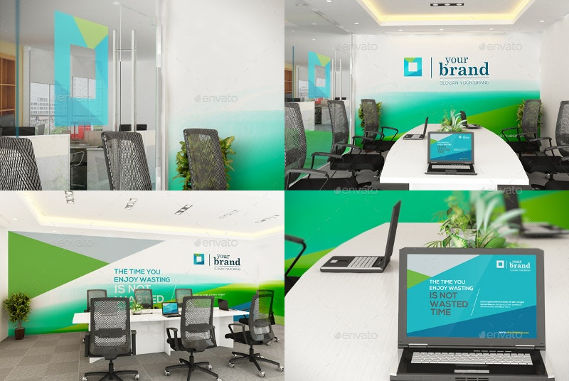Art Direction Interior Branding Mockup